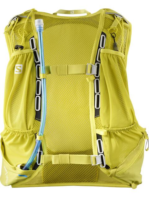 Salomon Skin Pro 10 Backpack Set citronelle/sulphur spring
